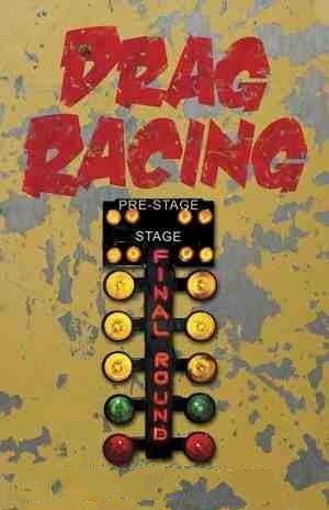 Vintage Drag Race Christmas Tree Sign Drag Racing Cars