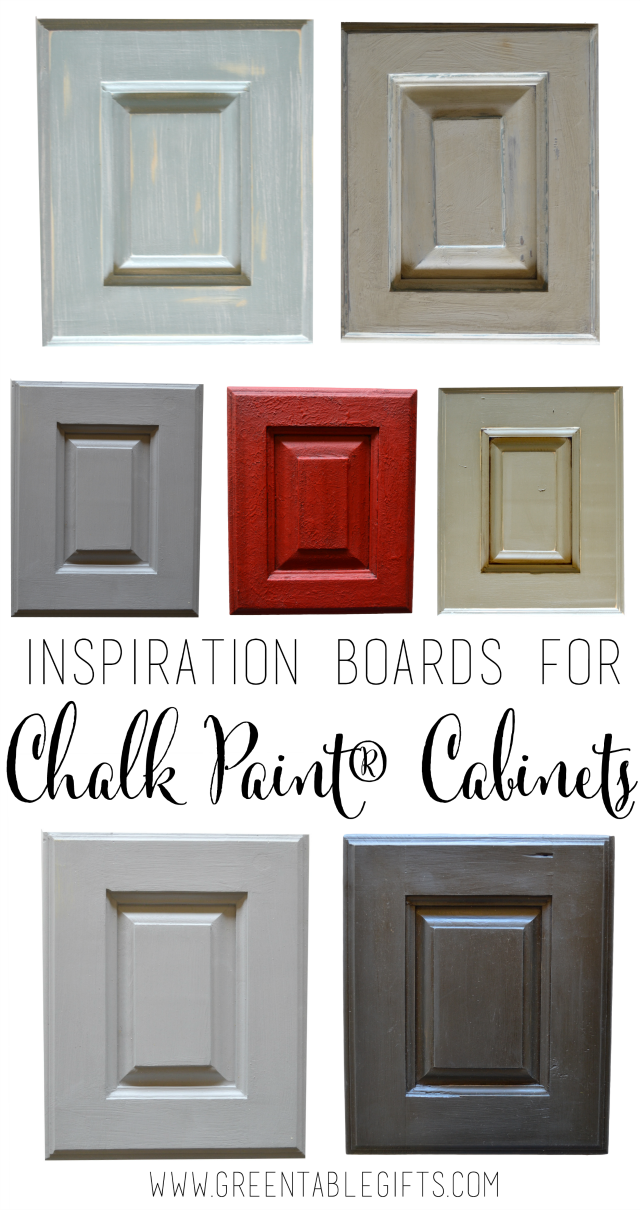 Green Table Gifts: Six Inspiration Boards For Chalk Paint® Kitchen Cabinets