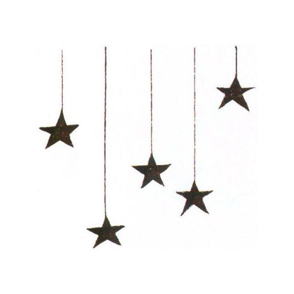 Found On Polyvore Theme Divider Art Star Doodle