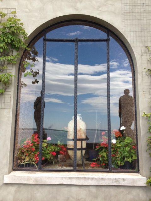 Castello di Duino, finestra - Friuli-Venezia Giulia. 45°46′29″N 13°36′22″E