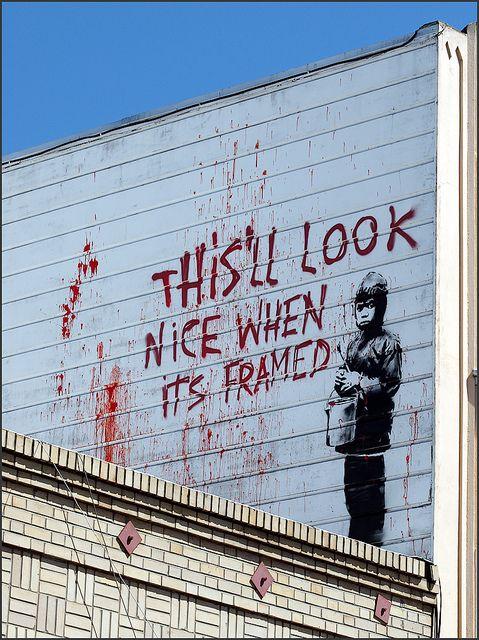 By Banksy, San Francisco