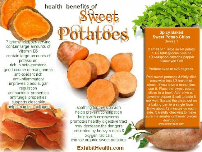 Health Benefits of Sweet Potatoes | Health ~ Whole Foods