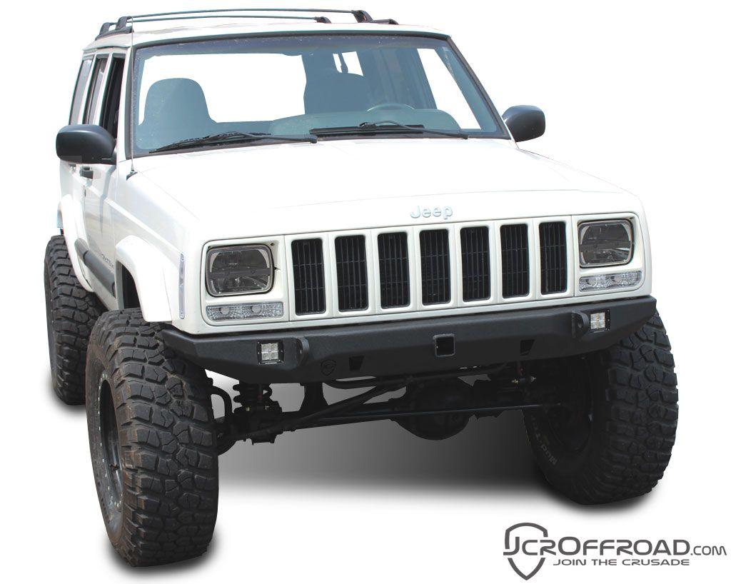 Jeep Cherokee Front Bumper Crusader Jeep Xj 84 01 Jeep Xj