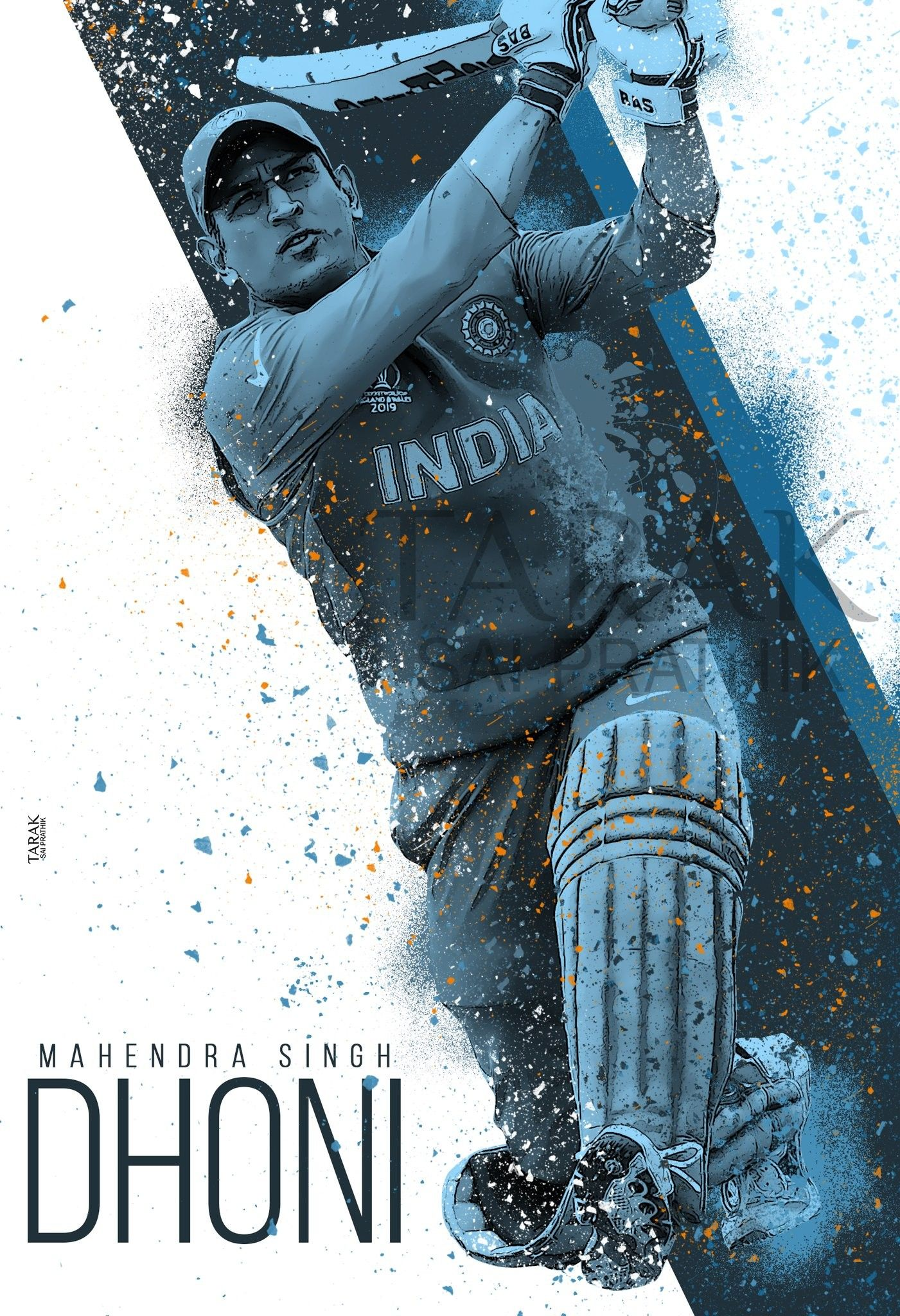 Happy Birthday Msd Ms Dhoni Wallpapers Dhoni Wallpapers Cricket Wallpapers