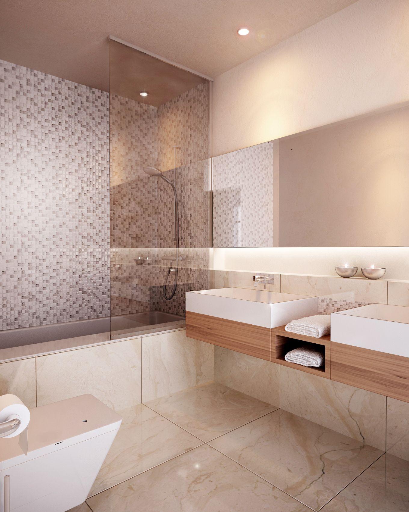 #bathroom, #modernbathroom, #modern #spanish #style