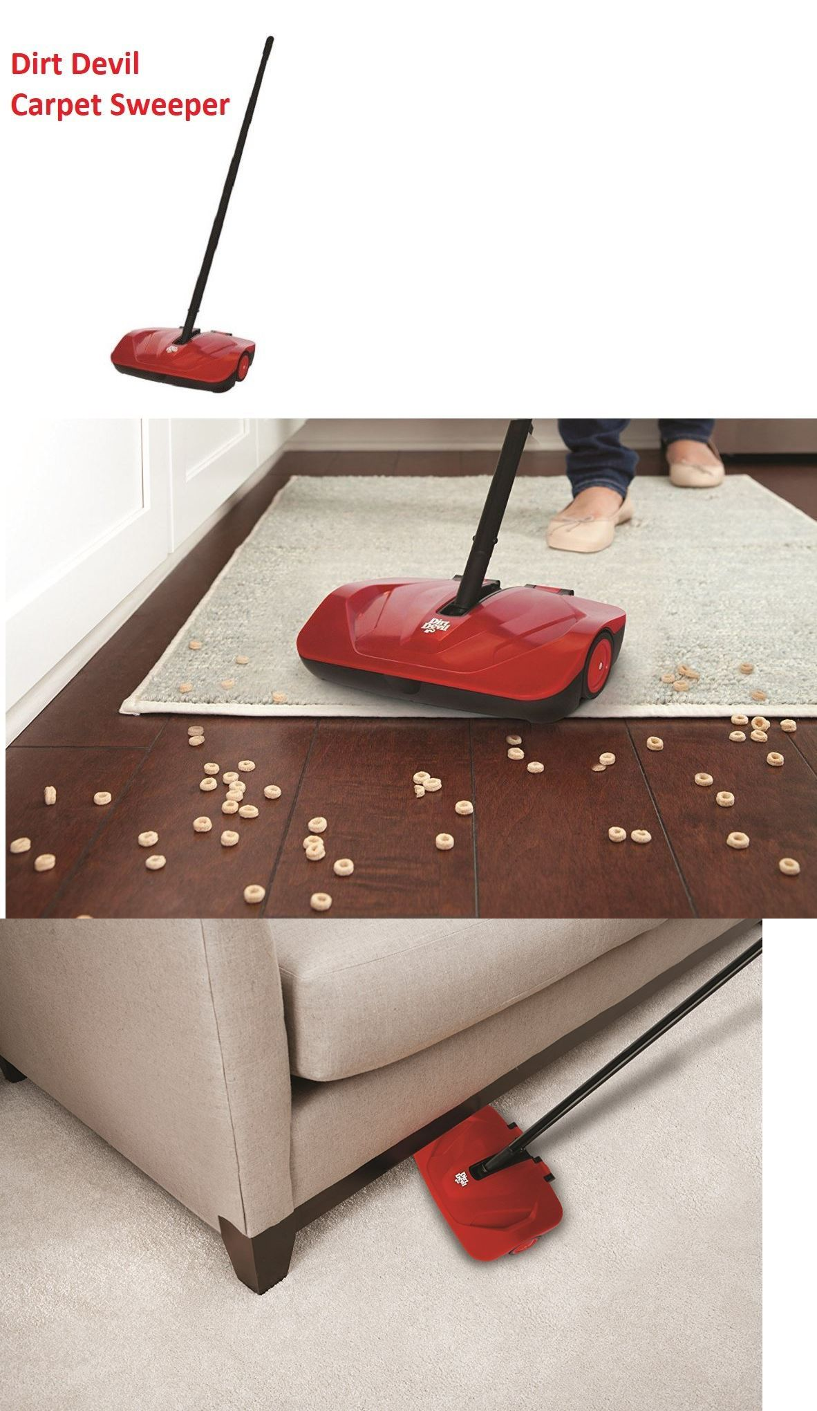 Carpet And Floor Sweepers 79657 Dirt Devil Carpet Sweeper