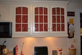 Decorating Cheats Adding Fabric To Glass Doors Glass Doors Doors