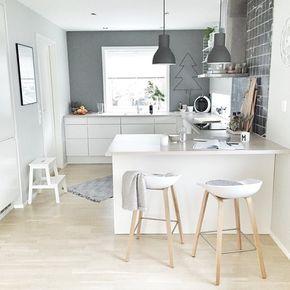 Schmale offene Küche | Hausideen | Pinterest | Offene küche, Schmal ...