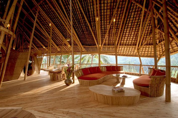 20 pictures the magical bamboo house of bali indonesia - Bamboo designs for interior designing ...
