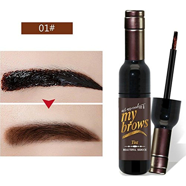 Spdoo Eyebrow Dye Cream Peel Off Eyebrow Gel Tattoo Long