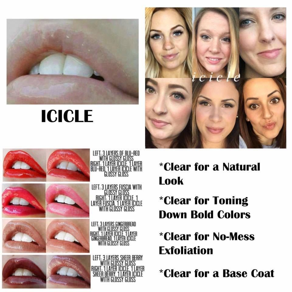 Icicle LIMITED EDITION LipSense. Kiss-proof, waterproof, smudge ...