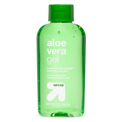 Green Aloe Vera Gel 2 Oz Up Up Target Gel Aloe Vera Gel Aloe