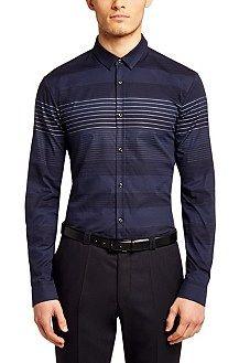 Hugo Boss stripes