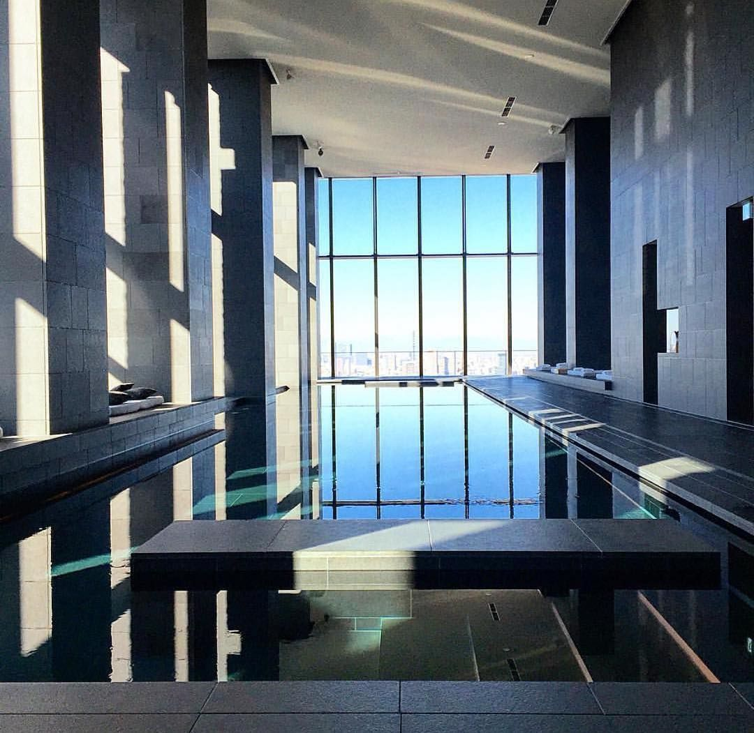 Aman Spa by Kerry Hill Architects (2014), Otemachi Tower #Tokyo ...