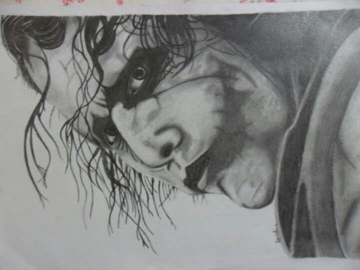 Joker Scribble Drawing : Joker drawing using pencil artist anneka collins my art