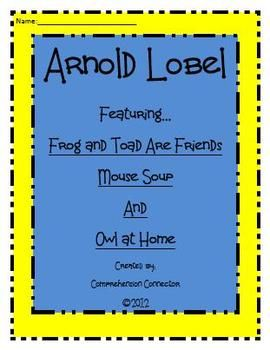 Frog and Toad Are Friends Literary Unit | 2nd Grade -- $5 ...