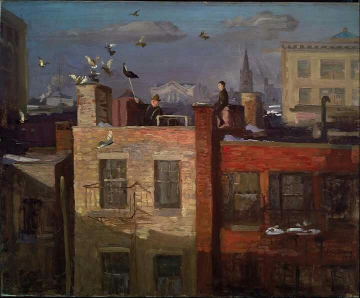 John Sloan... beautiful!