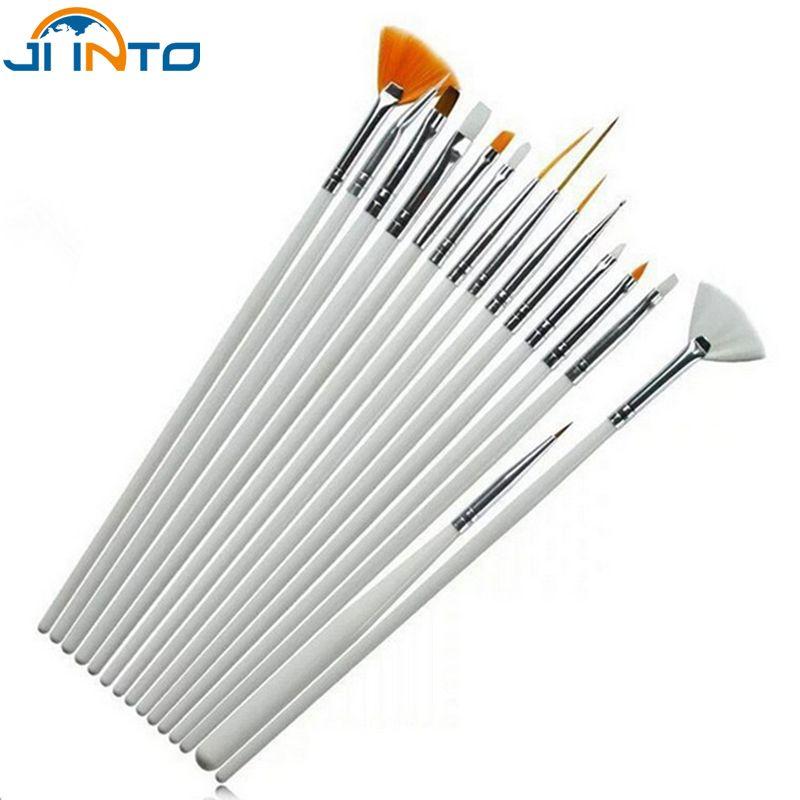 15pcs/set Watercolor Brush Aquarelle Paint Brushes Wooden Handle ...