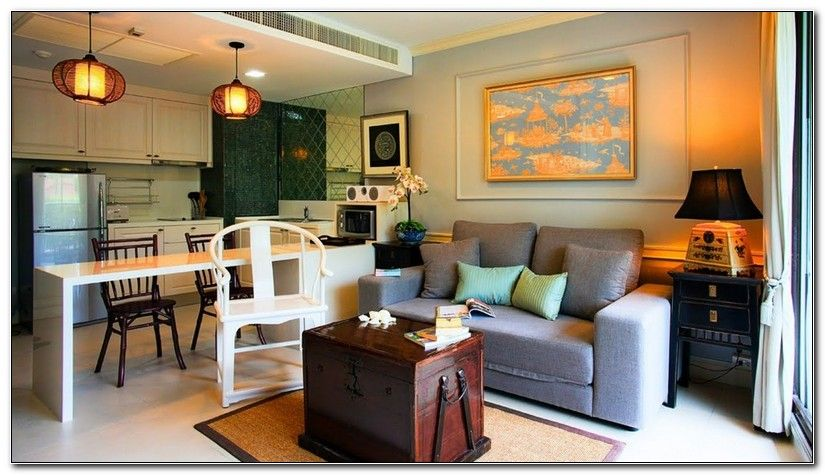Pictures Of Small Living Room And Kitchen Combined Diseno De La