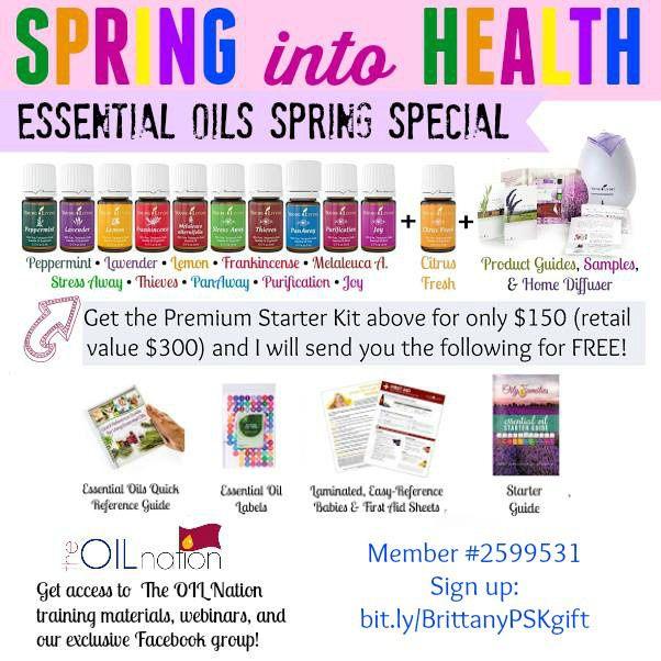 Essential Oils Spring Special