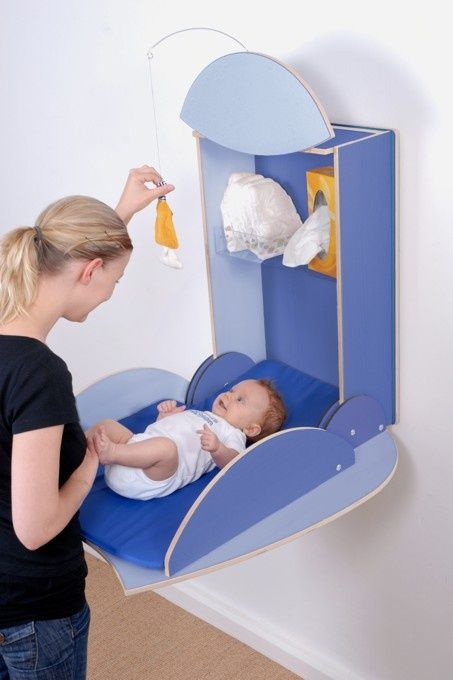 Baby Diaper Change Console Baby Changing Tables Wall Mounted