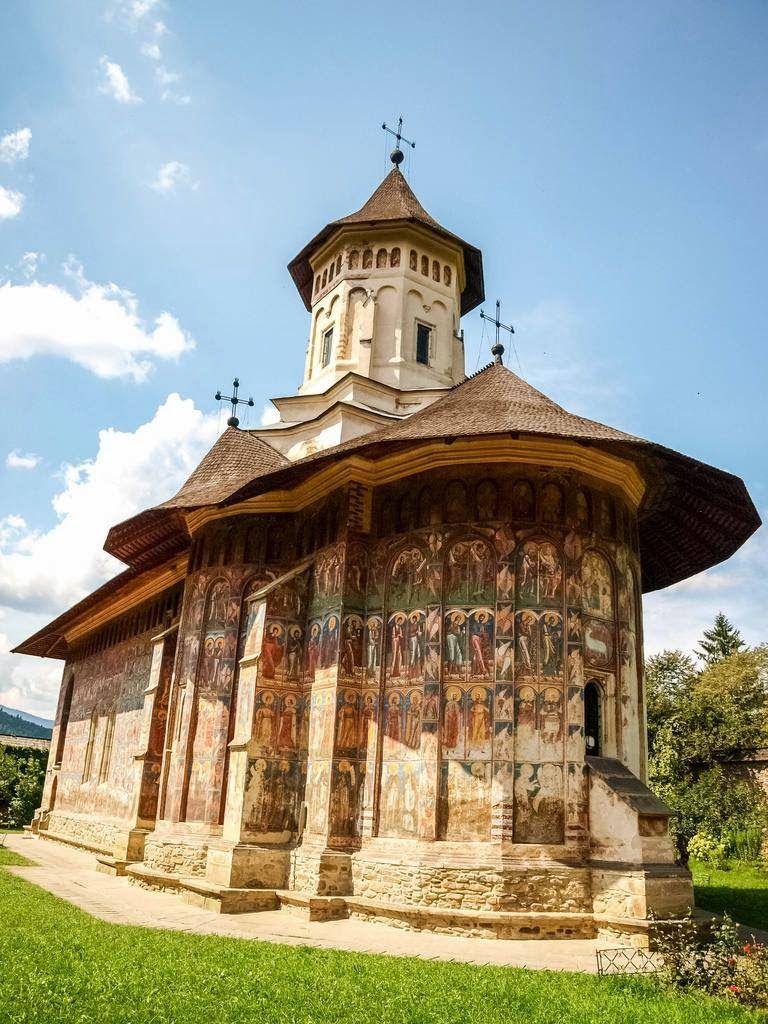 Voronet Monastery (the Painted Monasteries of Romania)