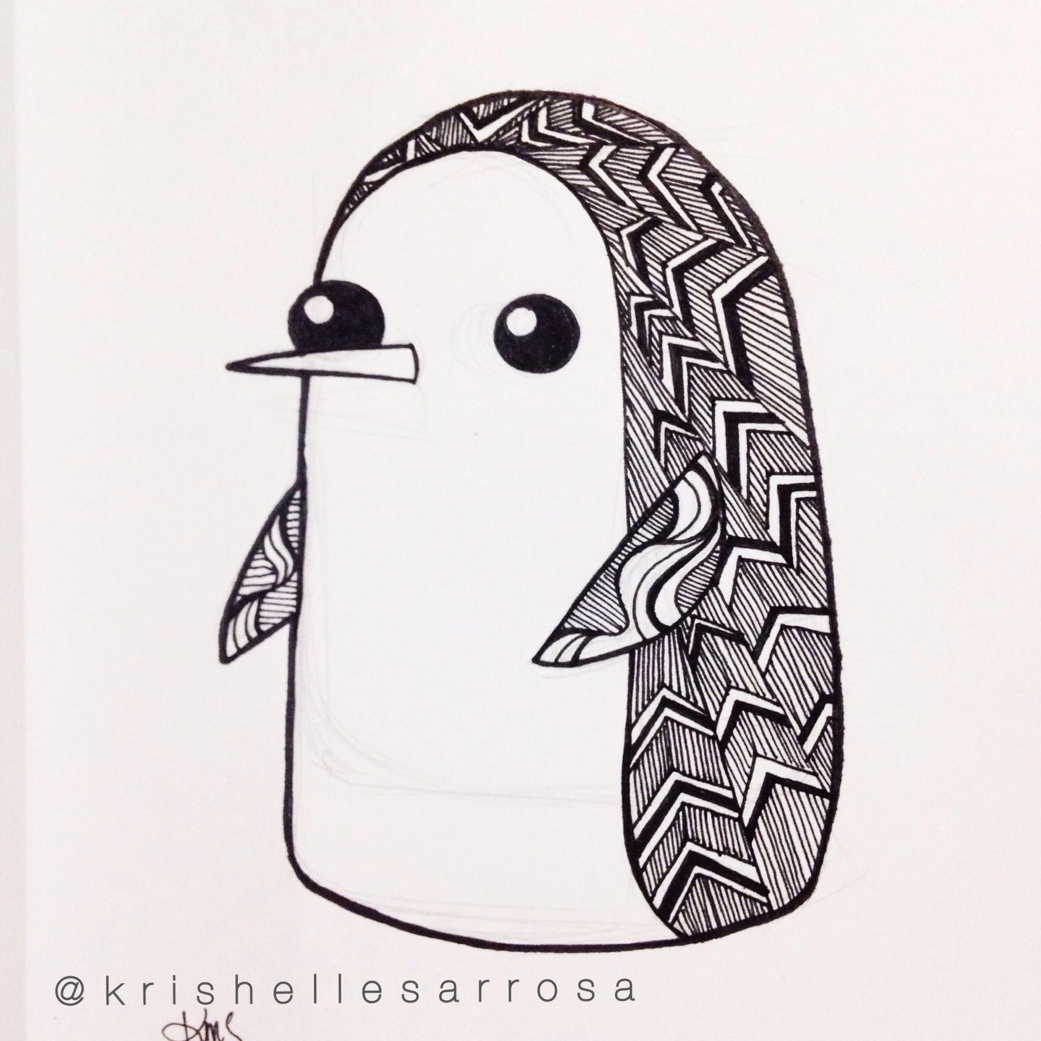 Line Drawing Penguin : Gunter penguin drawing freedombook art pinterest
