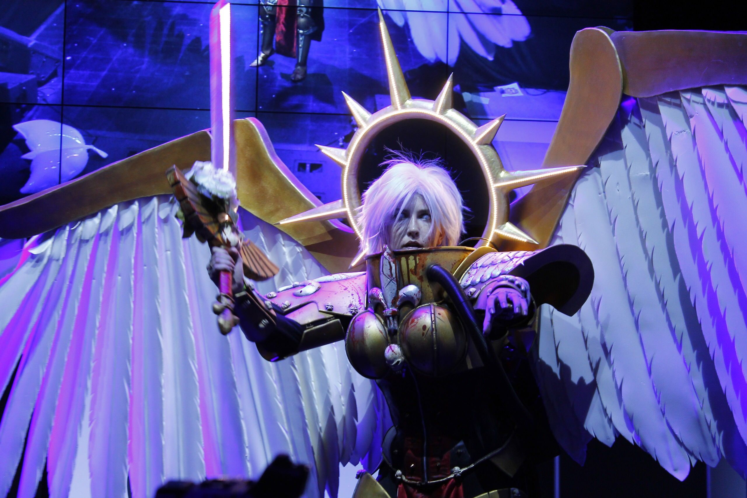 My cosplay of Saint Celestine from Warhammer 40 000,