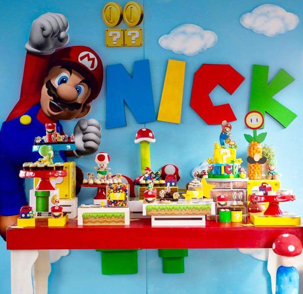 Mario Party Super Mario Bros Party Mario Bros Party Super Mario Birthday Party