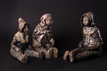 jocelyne saez simbola atelier du moulin de l 39 herm rosi res inspir objets d co sculptures. Black Bedroom Furniture Sets. Home Design Ideas