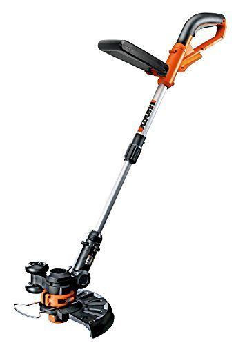 Worx Wg156 Liion Cordless Grass Trimmeredger With Manual Handle 10inchbare Tool Only Be Sure To Check Out This Awesome Product Hering