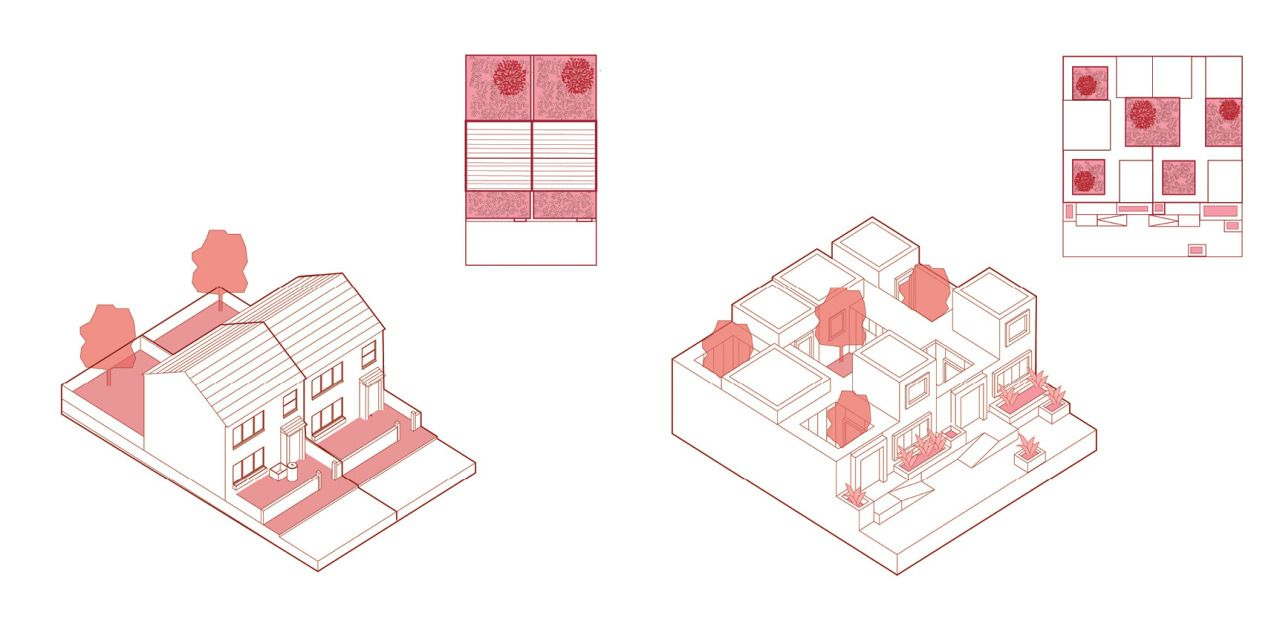 Elderly Housing Mouslecoomb Brighton Uk Architecture Graphics Design Architecture Drawing