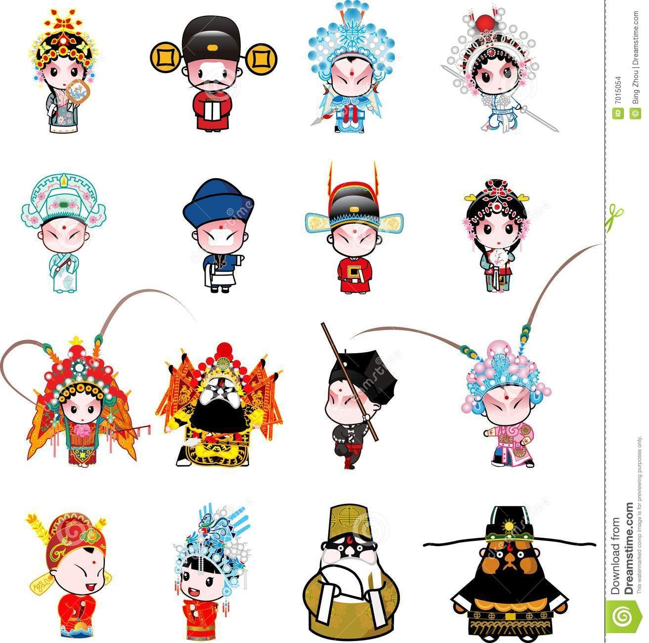 Chinese cartoon characters images download