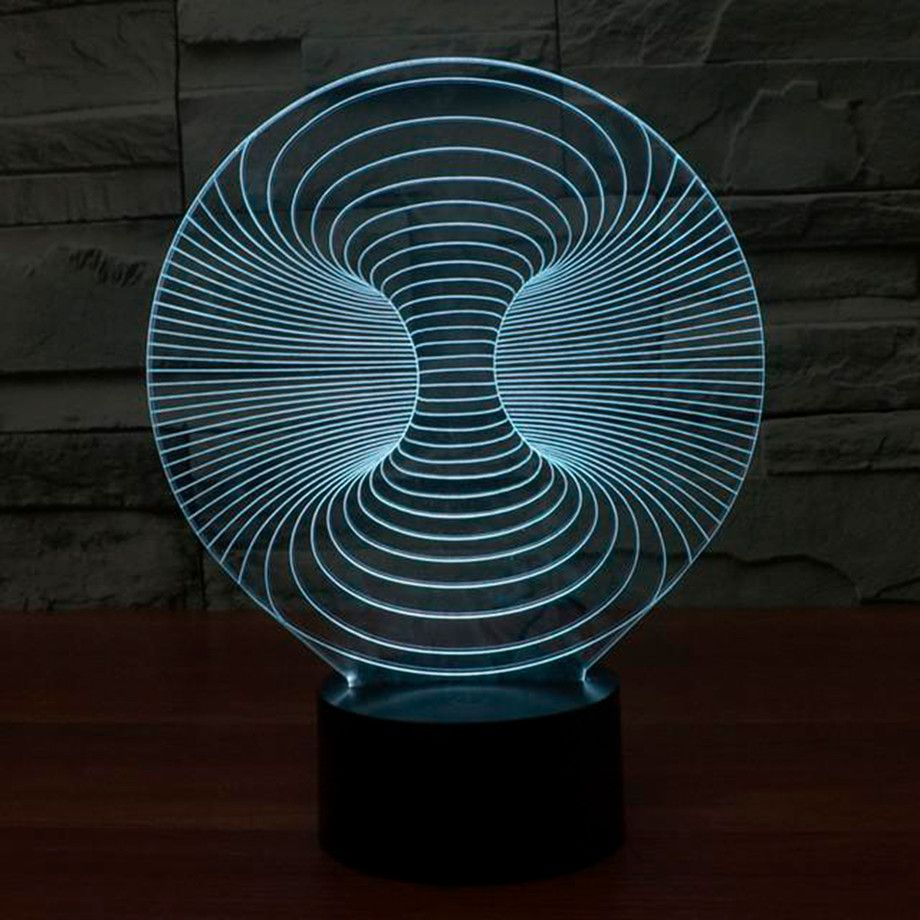 Bylamp Unique 3d Illusion Lighting Touch Of Modern 3d Led Night Light Led Night Light Night Light Lamp