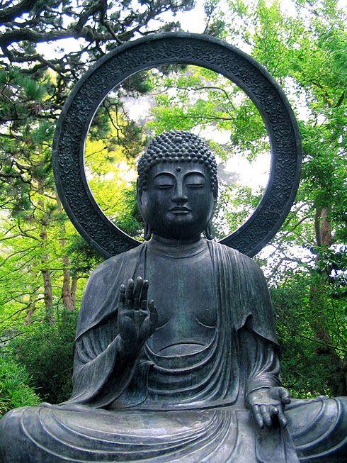 Japanese Garden Buddha Statues