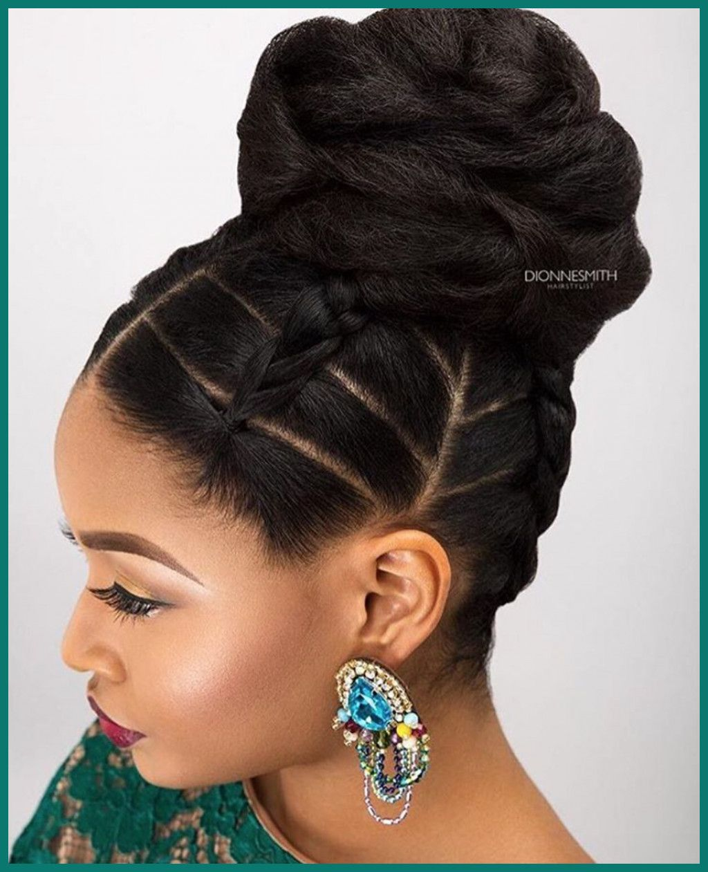 African american updo wedding hairstyles 457558 new