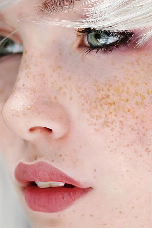 Pin By Aaron Jones On Illustration Freckle Face Freckles Hair Beauty