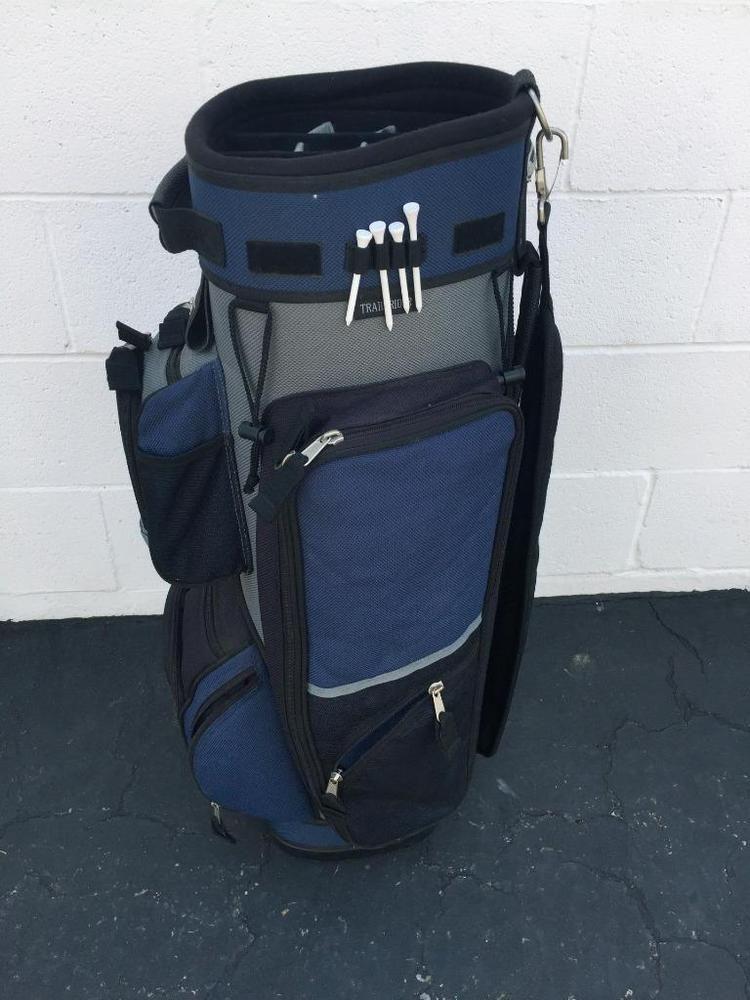 9070cdc247 GREAT DIVIDER CART GOLF BAG~14 WAY DIVIDER~BLUE/BLACK~GOOD CONDITION  #GREATDIVIDER #Modern