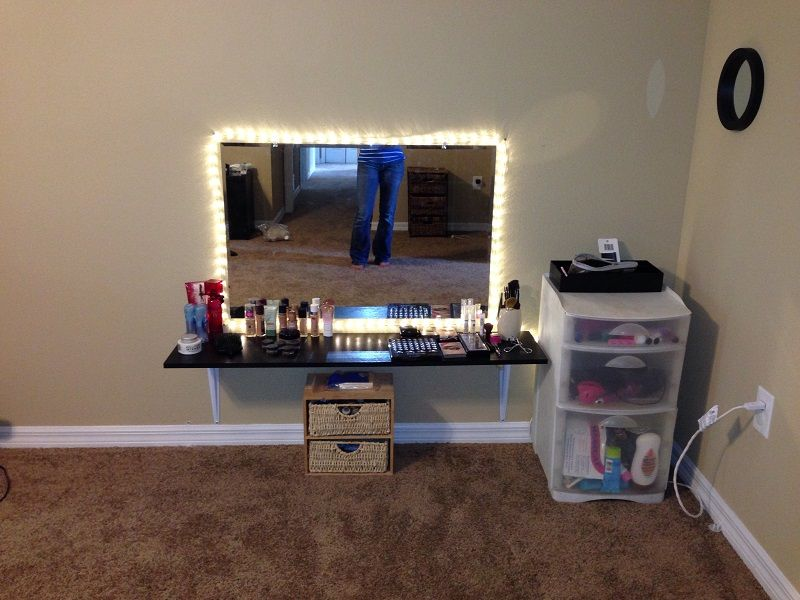Best 40 Makeup Station Ideas Easy Home Decor Diy Vanity Bedroom Diy