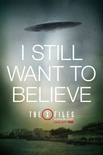 X Files The Poster 24in X36in Vivid Reproduction For Decorative Purposes