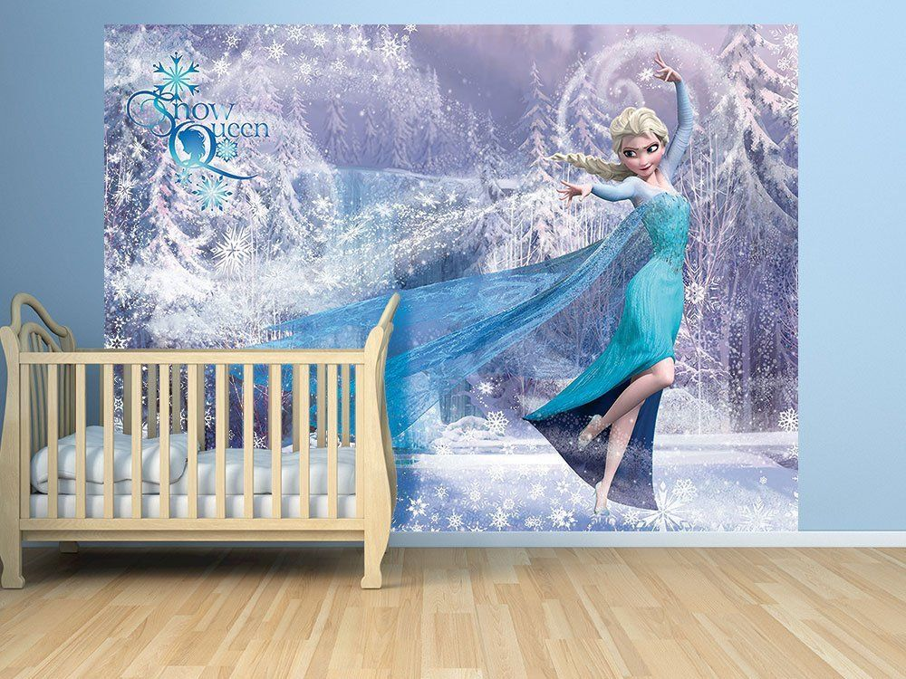 kindertapete wandtapete disney papiertapete f r kinderzimmer frozen k che haushalt. Black Bedroom Furniture Sets. Home Design Ideas