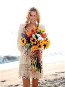 Vintage Boho Beach wedding