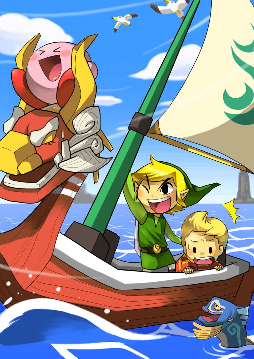 Zelda The Wind Waker Fanart With Lucas Too Come On Pinner Did