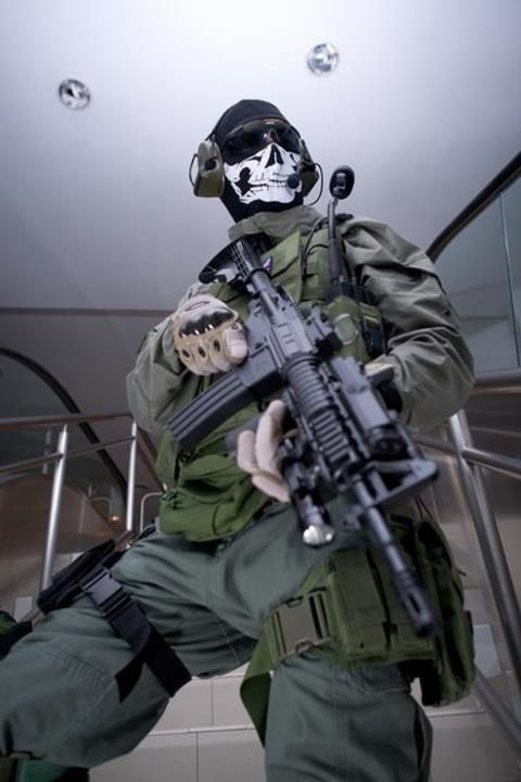 Mw2 Ghost Cosplay