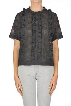 L'Autre Chose - Texuted cloth top | Reebonz