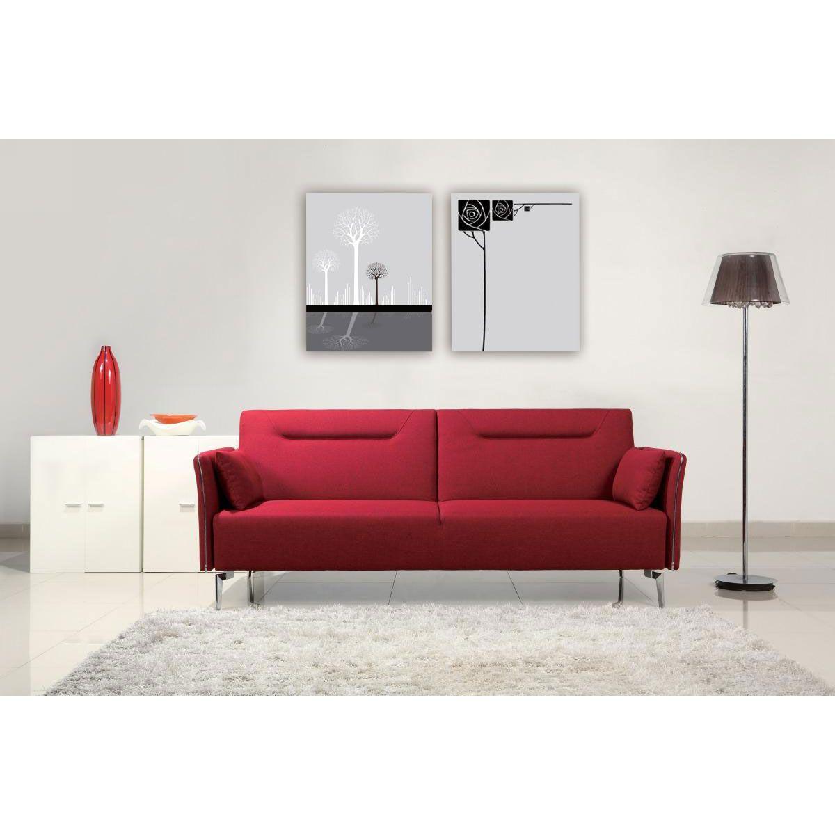Pomegranate convertible sofa dotandbo living room
