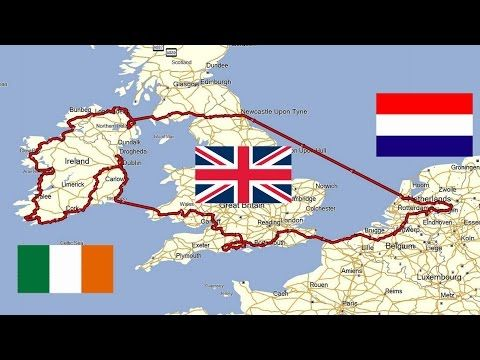 Youtube Map Of Ireland.The Great Ireland Motorcycle Road Trip Youtube Someday Road