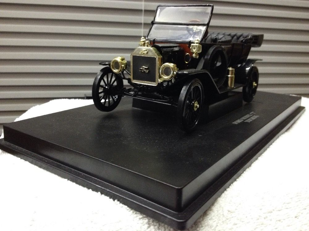 118 scale diecast ford modelt touring car black
