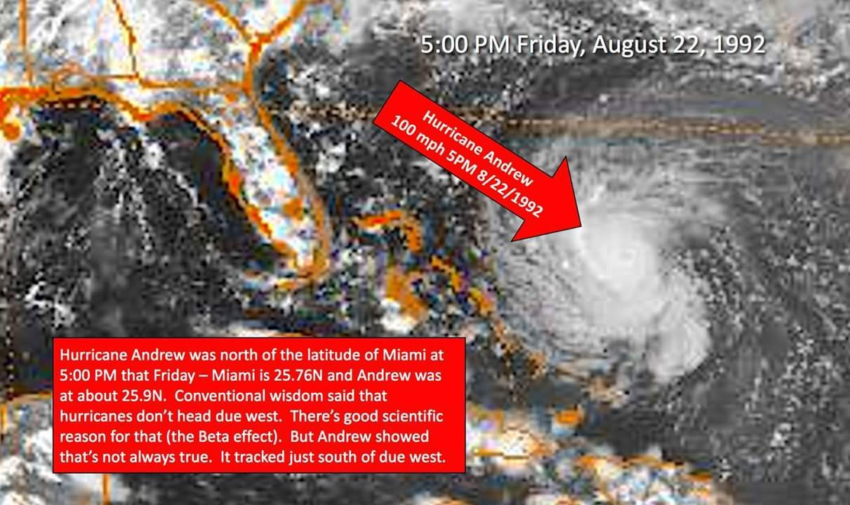 Pin By My Info On Hurricanes Hurricane Andrew Hurricane Due West