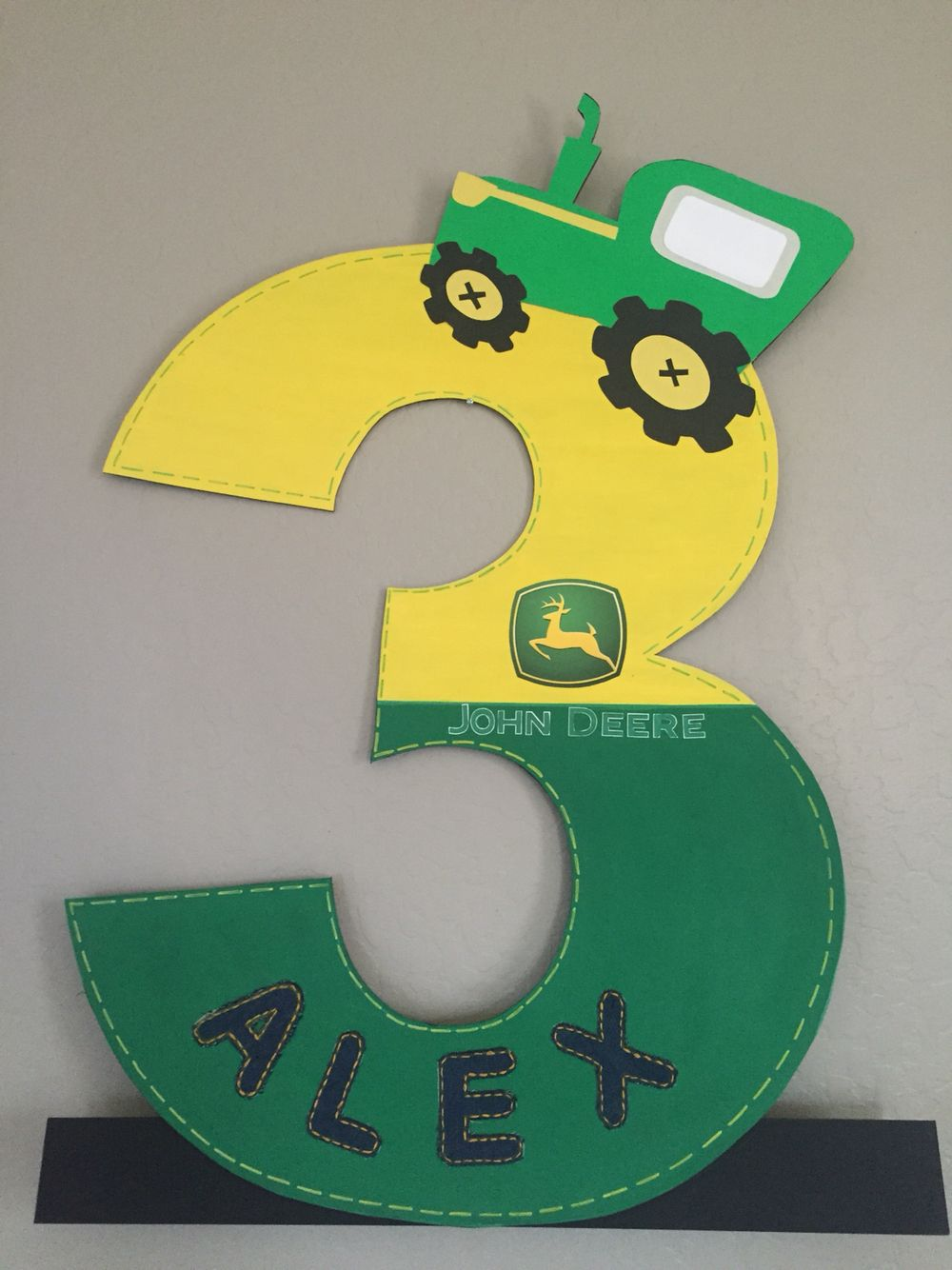 Big number 3 of john deere theme party decoration follow me on big number 3 of john deere theme party decoration follow me on facebookmy party jeuxipadfo Images